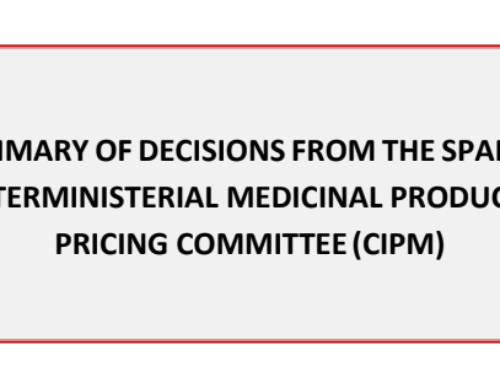 The June 2020 summary of P&R decisions from the Spanish Interministerial Medicinal Products Pricing Committee (CIPM) is now translated and available to download in English.